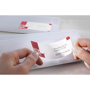 350 AVERY Zweckform Adressetiketten J8163-25 weiß