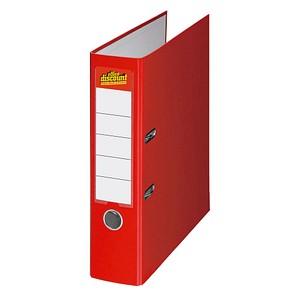 office discount Ordner rot Kunststoff 7,5 cm DIN A4