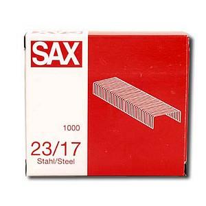 1.000 sax design Heftklammern 23/17