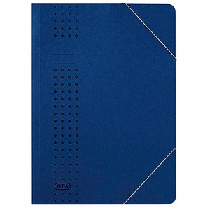 25 ELBA Eckspanner chic DIN A4 blau