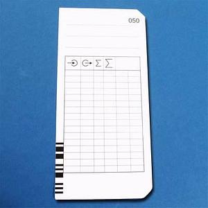 200 BÜRK MOBATIME Stempelkarten Typ 2 - 4