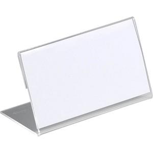 DURABLE Tischnamensschilder 8055-19 transparent 10 St.