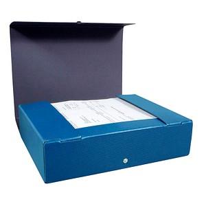 ELBA Heftbox   8,5 cm blau