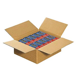 20 Wellpapp-Faltkartons 1-wellig 27,0 x 23,0 x 11,7 cm