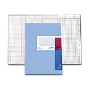 KÖNIG & EBHARDT Spaltenbuch 86-1106101 A4 6-Spalten, 32 Zeilen