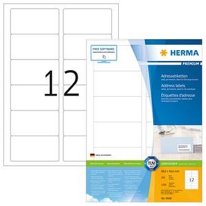 1.200 HERMA Etiketten 4666 weiß