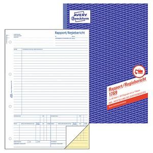 AVERY Zweckform Formularbuch 1769 Rapport/Regiebericht