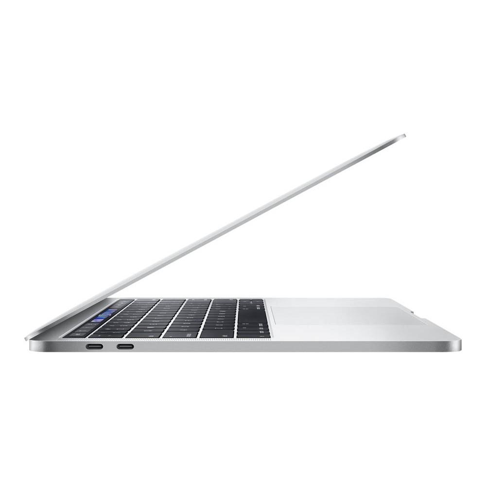 Seitenansicht eines Macbooks