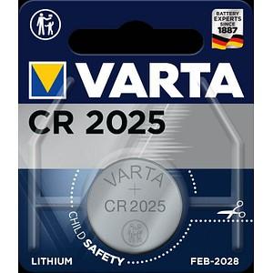 VARTA Knopfzelle CR2025 3,0 V