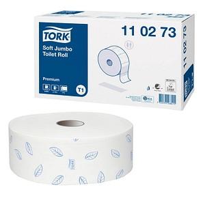 TORK Jumbo-Toilettenpapier T1 Premium Soft 2-lagig 6 Rollen