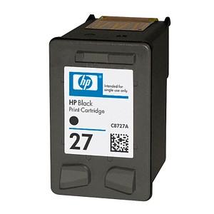 HP 27 (C8727AE) schwarz Tintenpatrone