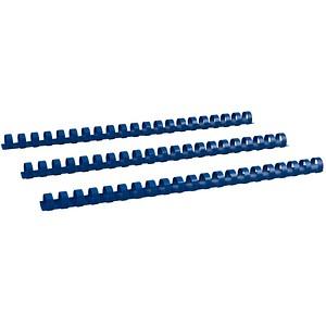 100 RENZ Kunststoffbinderücken   blau