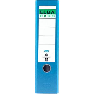 ELBA rado Wolkenmarmor Ordner blau marmoriert Karton 8,0 cm DIN A4
