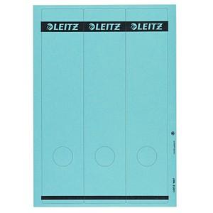 75 LEITZ Ordneretiketten 1687-35 blau für 8,0 cm Rückenbreite