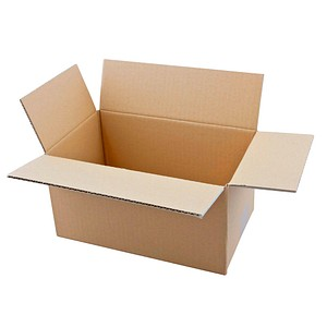 20 Wellpapp-Faltkartons 1-wellig 29,0 x 18,0 x 15,7 cm