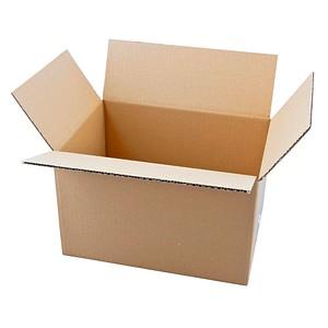 20 Wellpapp-Faltkartons 1-wellig 31,5 x 22,5 x 19,7 cm