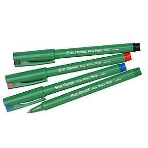 12 Pentel Ball R50 Tintenroller farbsortiert 0,4 mm