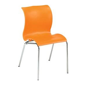 FRIWA   Schalenstuhl orange
