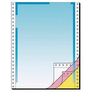 SIGEL Endlospapier A4 hoch 3-fach, 70 g/qm blau 400 Blatt
