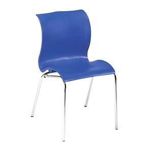 FRIWA   Schalenstuhl blau