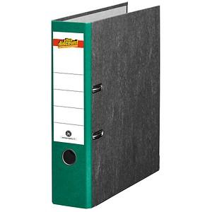 office discount Ordner grün marmoriert Karton 8,0 cm DIN A4