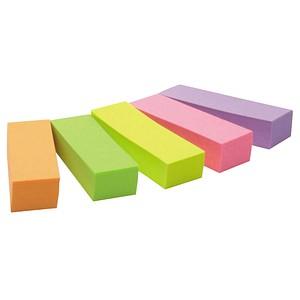 Post-it® Notes Markers Haftmarker farbsortiert 5x 100 Streifen