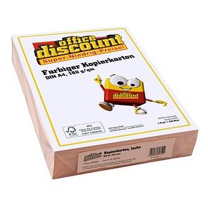 AKTION: office discount Kopierpapier Color lachs DIN A4 80 g/qm 500 Blatt