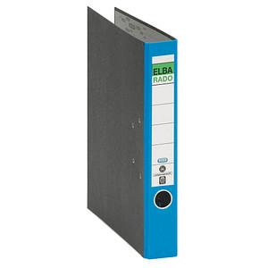 ELBA rado Wolkenmarmor Ordner blau marmoriert Karton 5,0 cm DIN A4