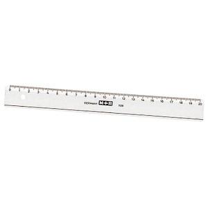 M + R Lineal   20,0 cm, glasklar