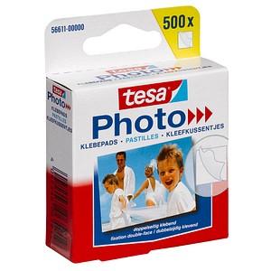 500 tesa Photo doppelseitige Klebepads 1,2 x 1,3 cm