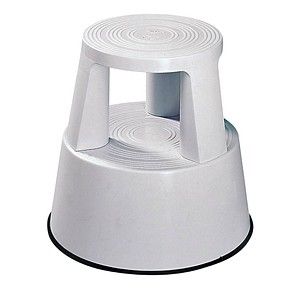 WEDO Rollhocker Step grau Kunststoff