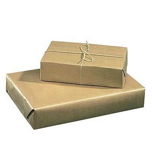 SUPRA Packpapier 50,0 cm x 50,0 m braun, 1 Rolle