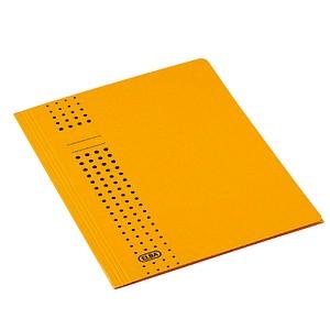 25 ELBA Sammelmappen chic DIN A4 gelb