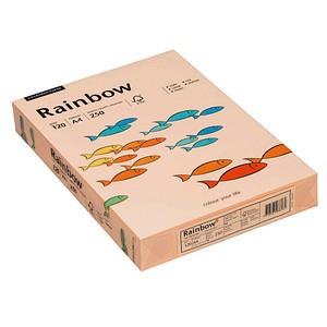 Rainbow Kopierpapier COLOURED PAPER lachs DIN A4 120 g/qm 250 Blatt
