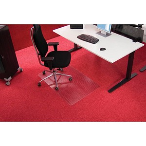 Roll-o-Grip Bodenschutzmatte für Teppichböden rechteckig, 90,0 x 120,0 cm