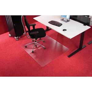 Roll-o-Grip Bodenschutzmatte für Teppichböden rechteckig, 110,0 x 120,0 cm