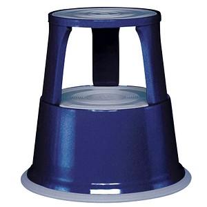 WEDO Rollhocker blau Metall