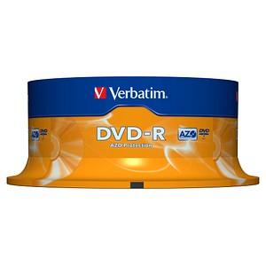25 Verbatim DVD-R