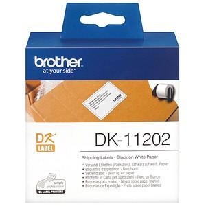 300 brother Etiketten DK11202 weiß