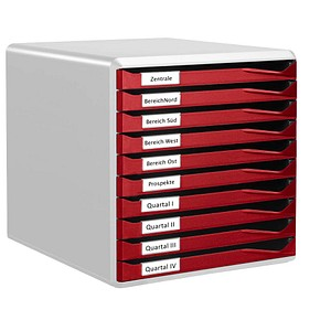 Schubladenboxen Formular-Set von LEITZ