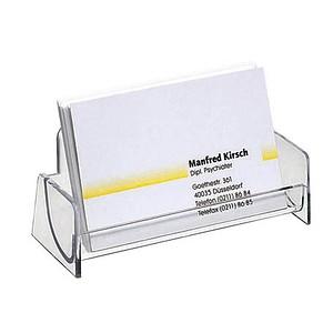 Sigel Visitenkartenhalter Glasklar